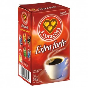 Café 3 Corações Extraforte 500g