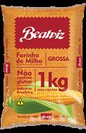 Farinha de Milho Grossa Beatriz Sem Glúten 1kg