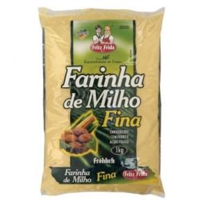 Farinha de Milho Fina Fritz & Frida 1kg