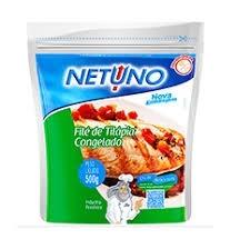 Filé de Tilápia congelado Netuno 500g