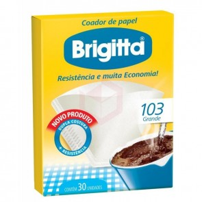 Filtro de Papel Brigitta 103c/ 30Unid.