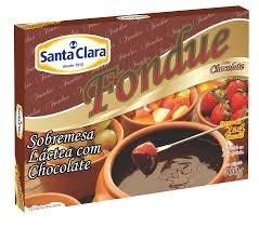 Fondue Chocolate Santa Clara 400g