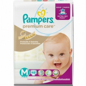 Fraldas Pampers Premium Care M C/94