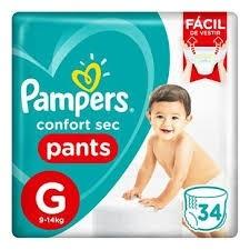 Fralda Pampers Pants G C/34