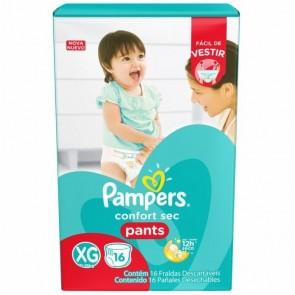 Fralda Pampers Pants XG C/16