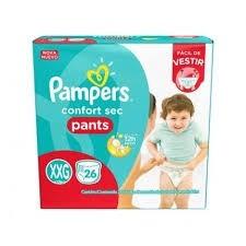 Fralda Pampers Pants XXG C/26