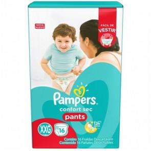Fralda Pampers Pants XXG C/16