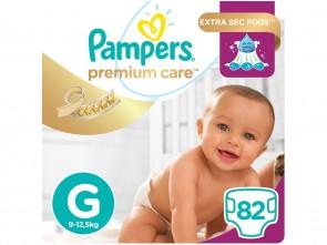 Fraldas Pampers Premium Care G C/82