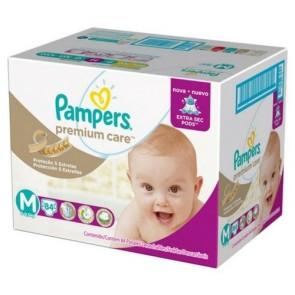 Fralda Pampers Premium Jumbo