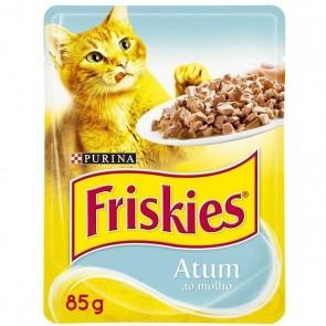 Alimento Para Gatos Friskies Purina Sachê Sabor Atum 85g
