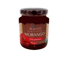 Geleia orgânica Morango com Pimenta Agreco 220g