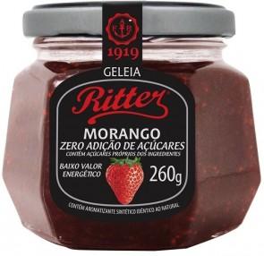 Geleia Morango Zero Açúcar Ritter 260g