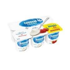 Iogurte Grego Tradicional 4 uni/Morango 2uni Nestle 600g