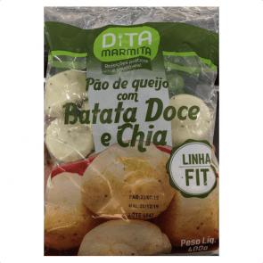 Pão de Queijo Batata Doce/Chia Dita 400g