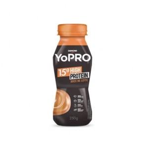 Iogurte 15g High Protein Doce de leite Yopro Danone 250g