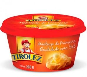 Manteiga Tirolez c/Sal 200G
