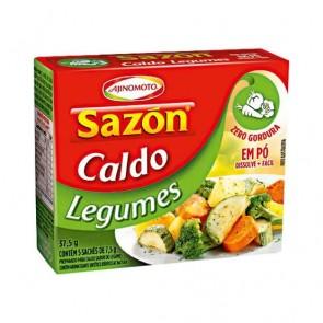 Caldo de Legumes em Pó Sazon 37.5g