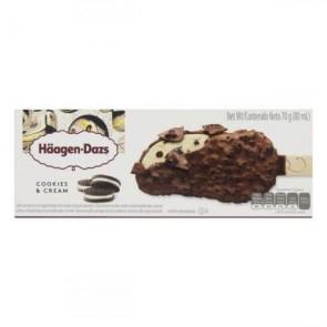 Picolé Cookies/Cream Haagen-Dazs 70g