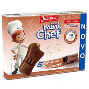 Mini Bolo Chocolate Mini Chef Jacquet 150g