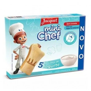 Mini Bolo Iogurte Mini Chef Jacquet 150g