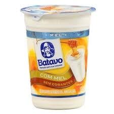 Iogurte Natural Integral com Mel Batavo 170g