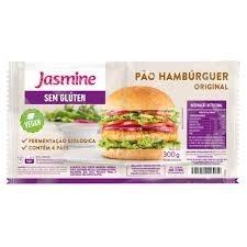 Pão Hambúrguer Original Vegan s/Glúten Jasmine 300g