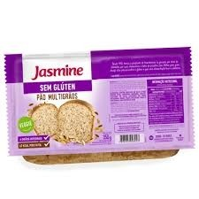 Pão Multigrãos Vegan s/Glúten Jasmine 350g
