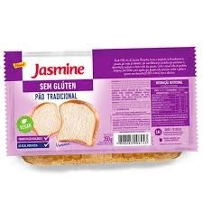 Pão Tradicional Vegan s/Glúten Jasmine 350g