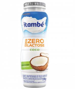 Iogurte Liquido Zero Lactose Coco Itambé 170g
