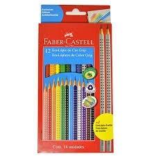 Lápis de Cor 12+2 Faber-Castell