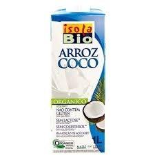 Leite de Arroz Coco Isola Bio 1 litro