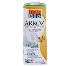 Leite de Arroz Vanilla Baunilha Isola Bio 1 litro