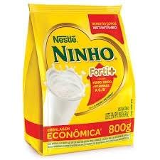 Leite em pó Integral Ninho sachê 800g