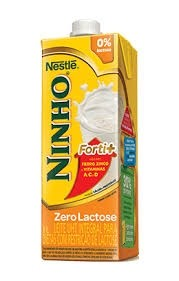 Leite Ninho Fort+ Zero Lactose 1L