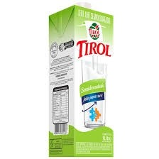 Leite UHT Tirol Semi desnatado 1L