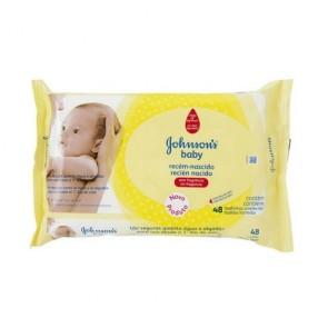 Lenço umidecido Jonhson Baby