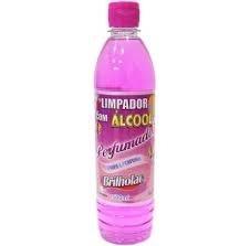 Limpador Brilholac Alcool Floral refil 500ml