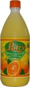 Sucos Laranja Petry 100% Natural 1 litro