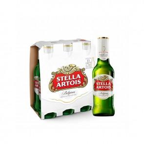 Cerveja Stella Artois pack de 275ml com 6