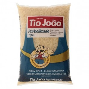 Arroz Tio Joao Parbolizado tipo 1 1 kg