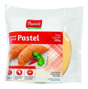Massa Para Pastel Pavioli G 500g