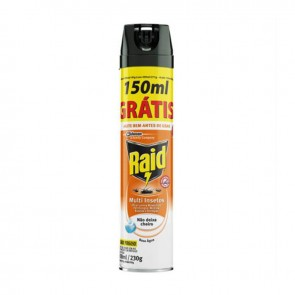 Multi-inseticida Raid Base agua Aerossol 450 ml