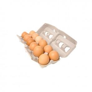 Ovos vermelhos Jumbo c/12 Maior