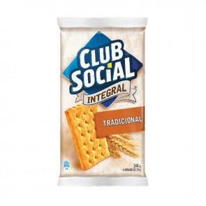 Biscoito Integral Club Social 144 g