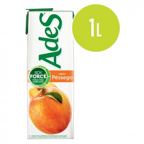 Suco de Soja Ades Pêssego 1 litro