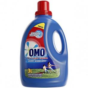 Detergente Liquido Lava Roupas Omo Lavagem Perfeita 3 L