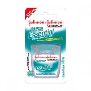 Fio Dental Essencial Menta Johnson 100m