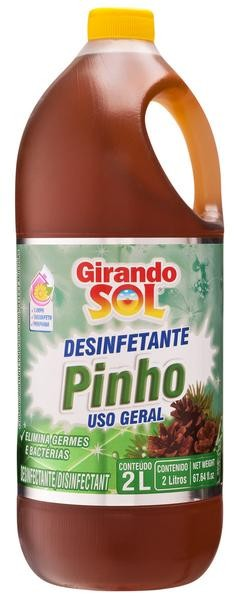 Desinfetante Girando Sol 2 L Pinho