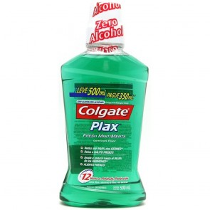 Antisseptico Bucal Plax Colgate 500ml