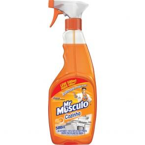 Limpador Cozinha Mr Músculo Aparelho 500ml